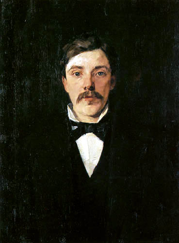 Wilhelm Trübner - The Brother Karl Truebner