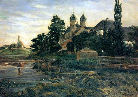Wilhelm Trübner - Monastery Seeon
