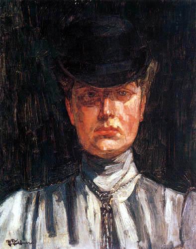 Wilhelm Trübner - Erna von Holzhausen