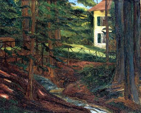 Wilhelm Trübner - Villa Goes am Starnberger See