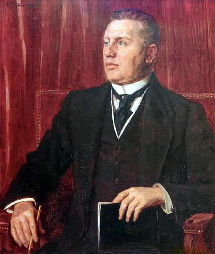 Wilhelm Trübner - Portrait of Karl Haberstock