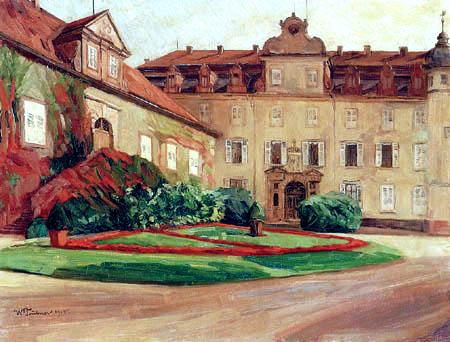 Wilhelm Trübner - Schloß Baden-Baden
