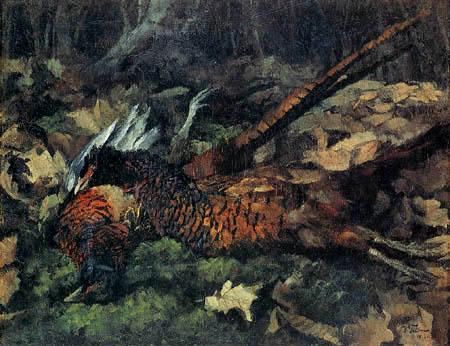 Wilhelm Trübner - Tote Fasane