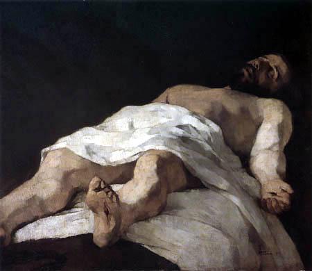 Wilhelm Trübner - Christ in the grave III