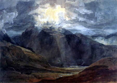 Joseph Mallord William Turner - Llanberis