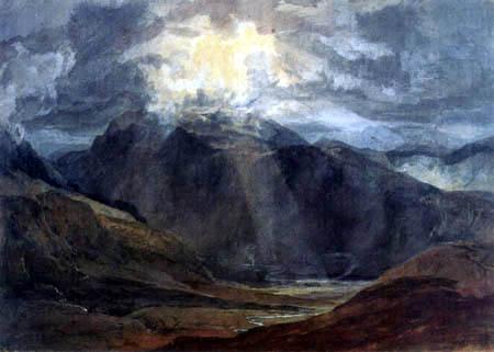 Joseph Mallord William Turner - Llanberis