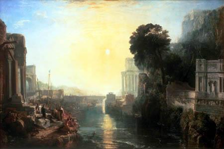 Joseph Mallord William Turner - Dido erbaut Karthago