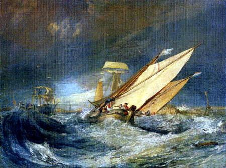 Joseph Mallord William Turner - Enterndes Fischerboot