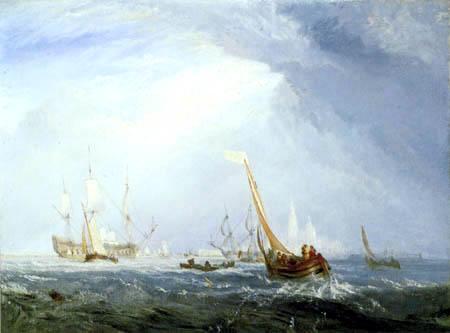 Joseph Mallord William Turner - Van Goyen auf Motivsuche in Antwerpen