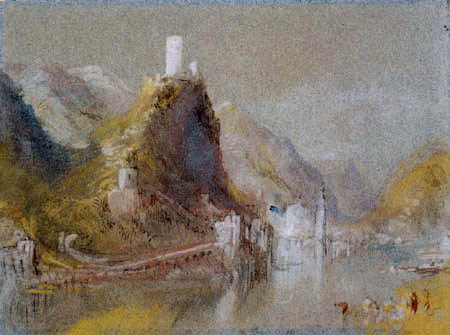 Joseph Mallord William Turner - Cochem of the south