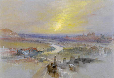 Joseph Mallord William Turner - View of Regensburg