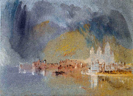 Joseph Mallord William Turner - Karden an der Mosel
