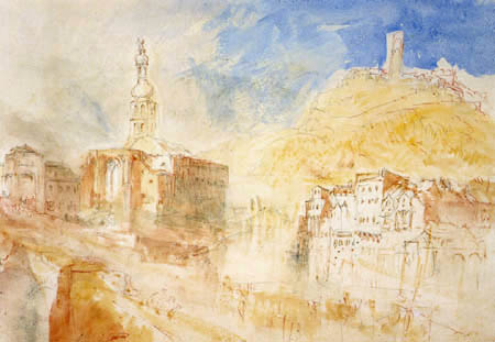 Joseph Mallord William Turner - Kreuznach an der Nahe