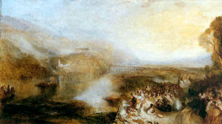 Joseph Mallord William Turner - The Opening of the Walhalla