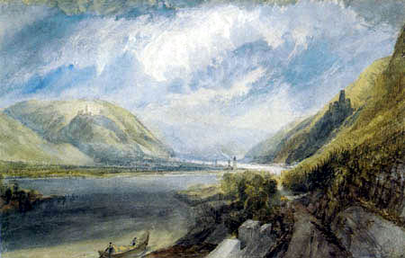 Joseph Mallord William Turner - The mouth of the Lahn