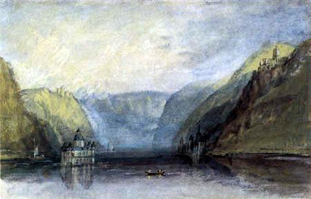Joseph Mallord William Turner - The Palatinate near Kaub
