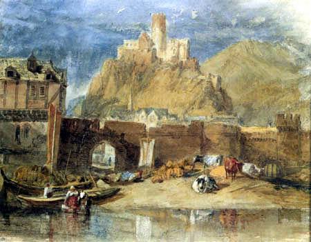 Joseph Mallord William Turner - Castle of Fürstenberg