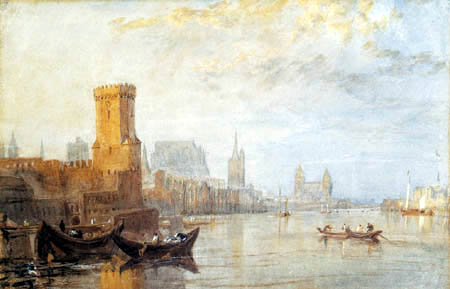 Joseph Mallord William Turner - View of Cologne