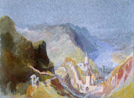 Joseph Mallord William Turner - Trarbach von der Grevenburg