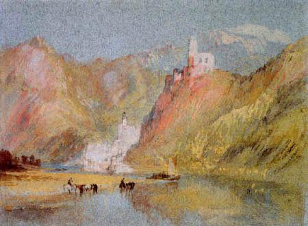 Joseph Mallord William Turner - Beilstein und Burg Metternich