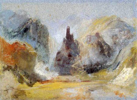 Joseph Mallord William Turner - Castle of Bischofstein