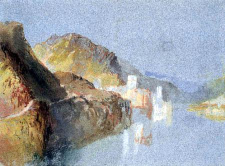 Joseph Mallord William Turner - The Leyenburg in Gondorf