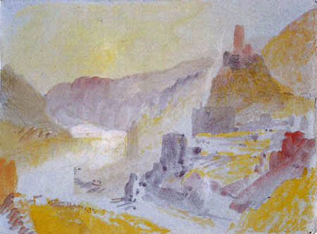 Joseph Mallord William Turner - View of Cochem