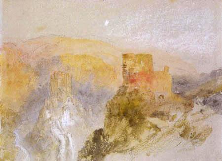 Joseph Mallord William Turner - Castle of Eltz and Trutz Eltz