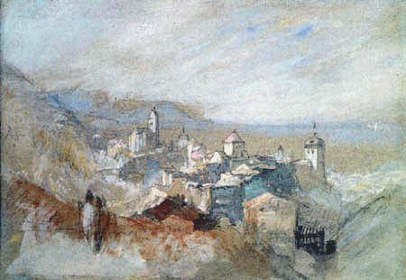 Joseph Mallord William Turner - View of Bregenz