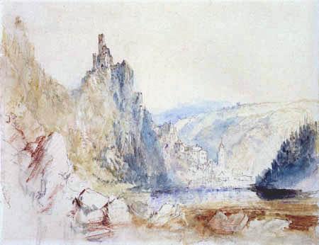 Joseph Mallord William Turner - The castle