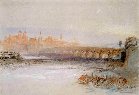 Joseph Mallord William Turner - Regensburg an der Donau