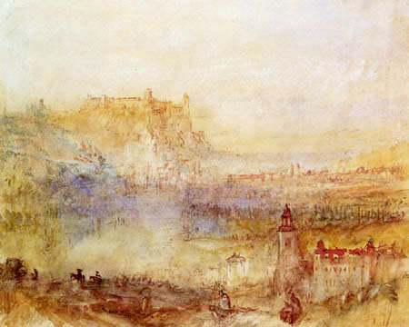 Joseph Mallord William Turner - Blick auf Würzburg