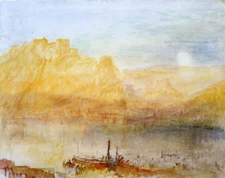 Joseph Mallord William Turner - View of Ehrenbreitstein