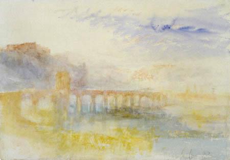Joseph Mallord William Turner - The Mosel bridges, Koblenz