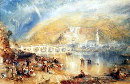 Joseph Mallord William Turner - View of Heidelberg