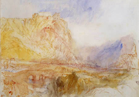 Joseph Mallord William Turner - Die Ebernburg mit der Alsenz