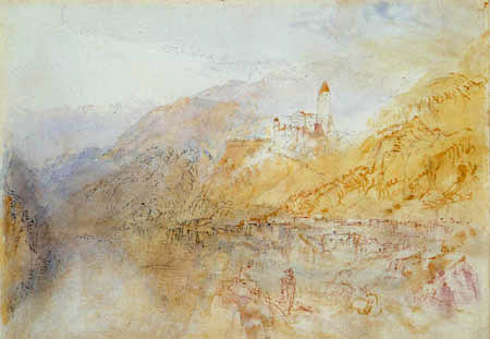 Joseph Mallord William Turner - Zwingenberg am Neckar