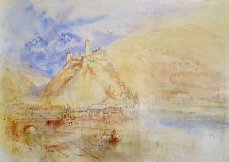 Joseph Mallord William Turner - Hirschhorn am Neckar