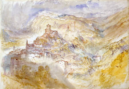 Joseph Mallord William Turner - Neckarsteinach am Neckar