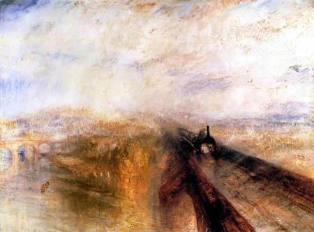 Joseph Mallord William Turner - Rain, Steam, Speed