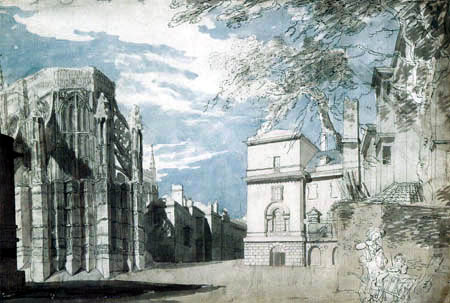 Joseph Mallord William Turner - Westminster Abbey