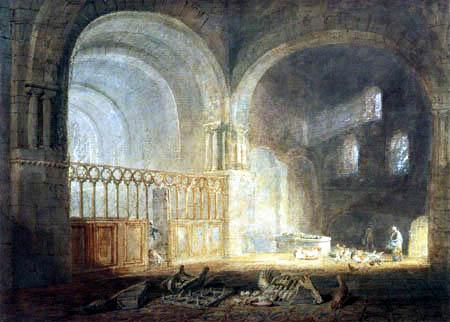 Joseph Mallord William Turner - Klosterkirche von Ewenny