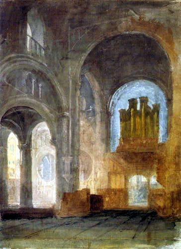 Joseph Mallord William Turner - Christ Church Cathedral, Oxford