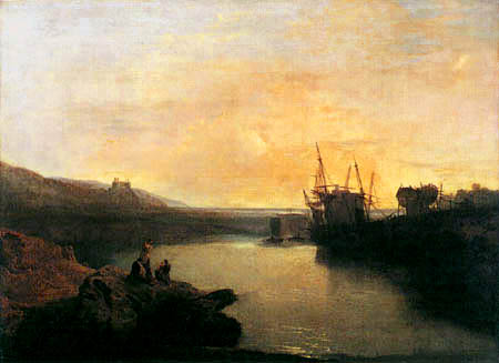 Joseph Mallord William Turner - Harlech Castle