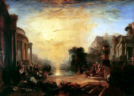 Joseph Mallord William Turner - Der Untergang des Karthagischen Reiches