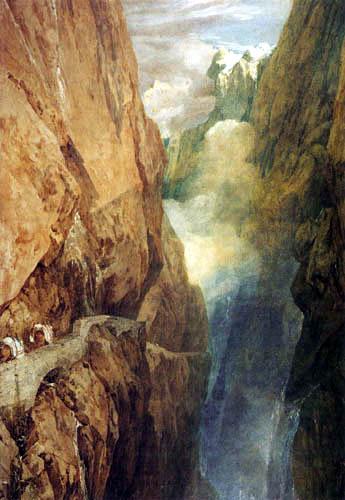 Joseph Mallord William Turner - St. Gotthard Pass
