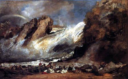Joseph Mallord William Turner - Rheinfall bei Schaffhausen