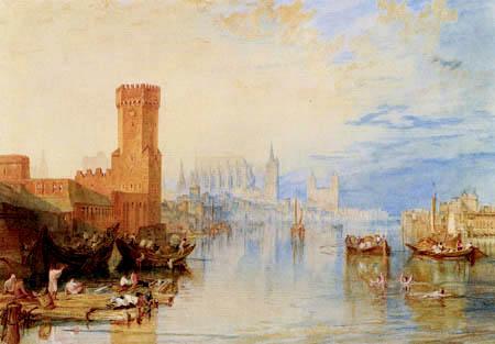 Joseph Mallord William Turner - Blick auf Köln