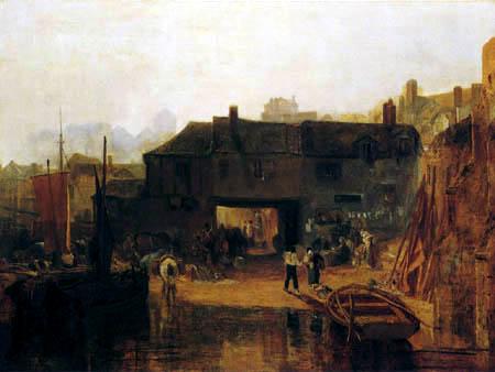 Joseph Mallord William Turner - Saltash mit der Flußfähre