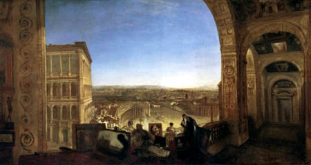 Joseph Mallord William Turner - Rom vom Vatikan aus gesehen